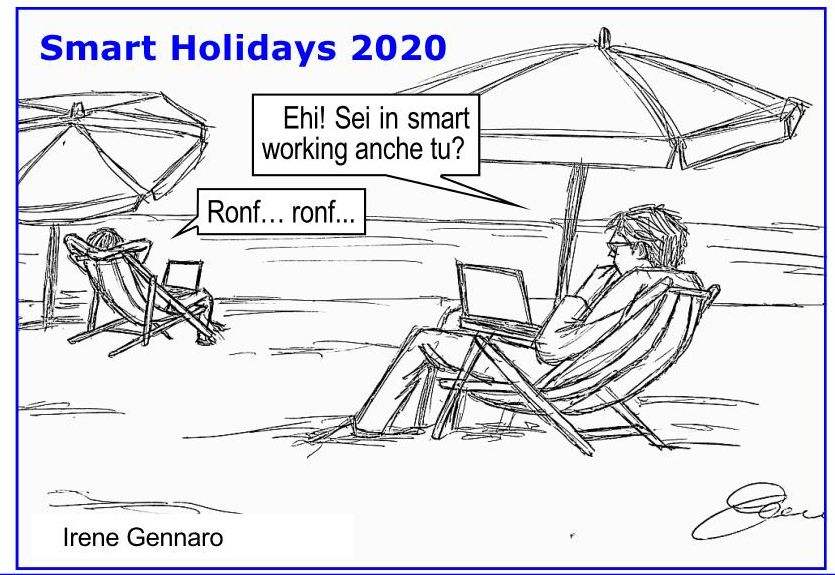 Smart working e smart holidays post Covid-19